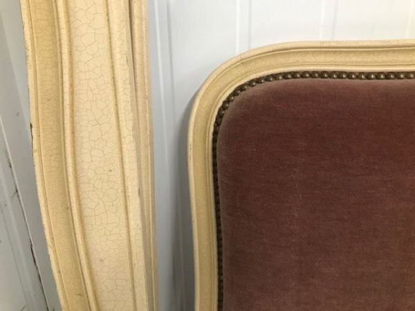 Vintage French King Size Bed - g29